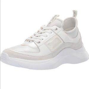 Calvin Klein white chunky sneakers